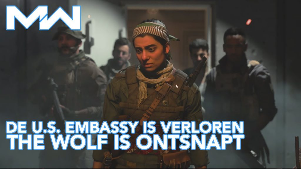 The wolf is ontsnapt